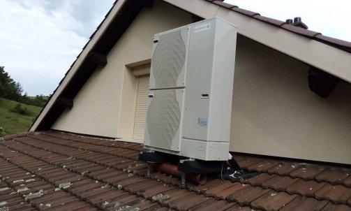 Pompe à chaleur air/eau groupe extérieur
