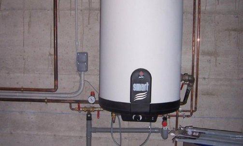 Ballon d'eau chaude sanitaire inox 42940 ST BONNET LE COURREAU