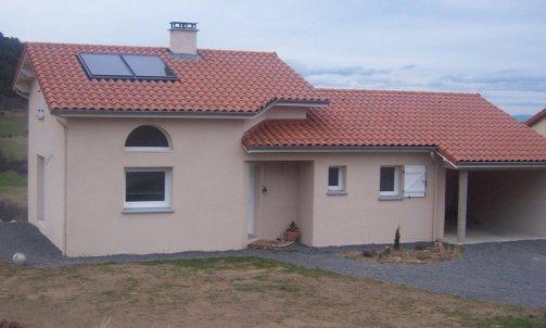 Panneaux solaire pour eau chaude Lérigneux
